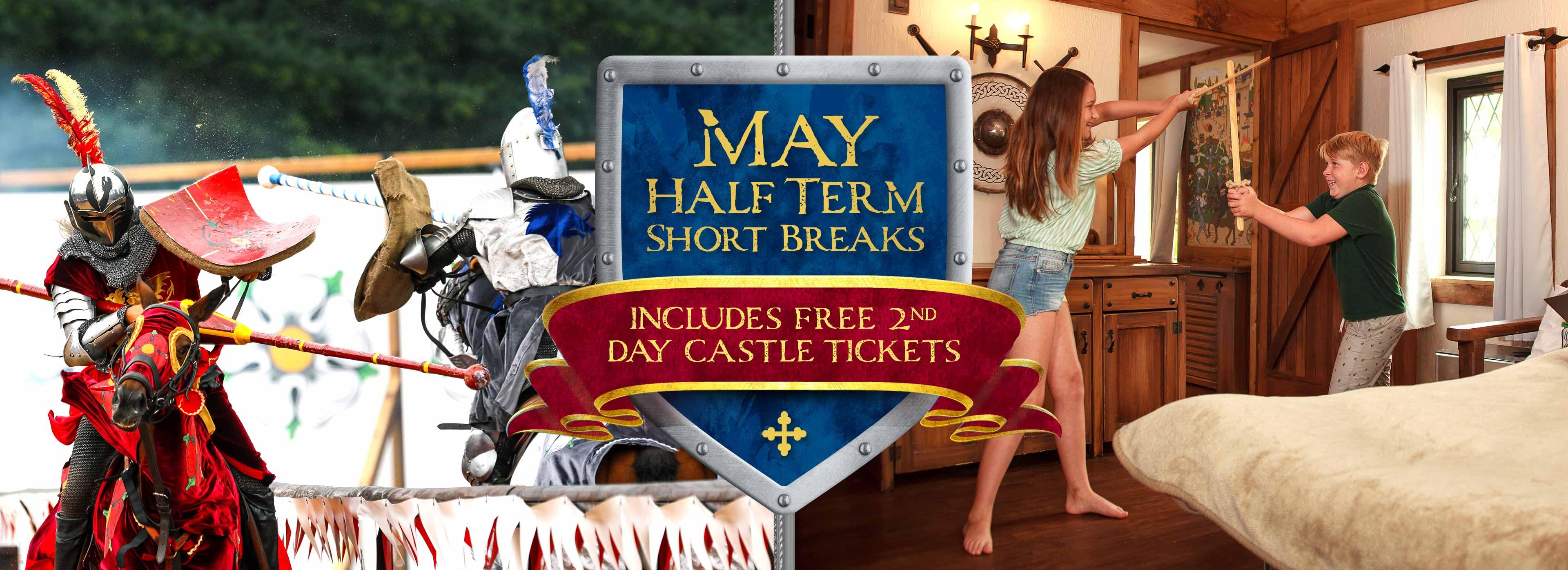 May Half Term breaks at Warwick Castle Breaks