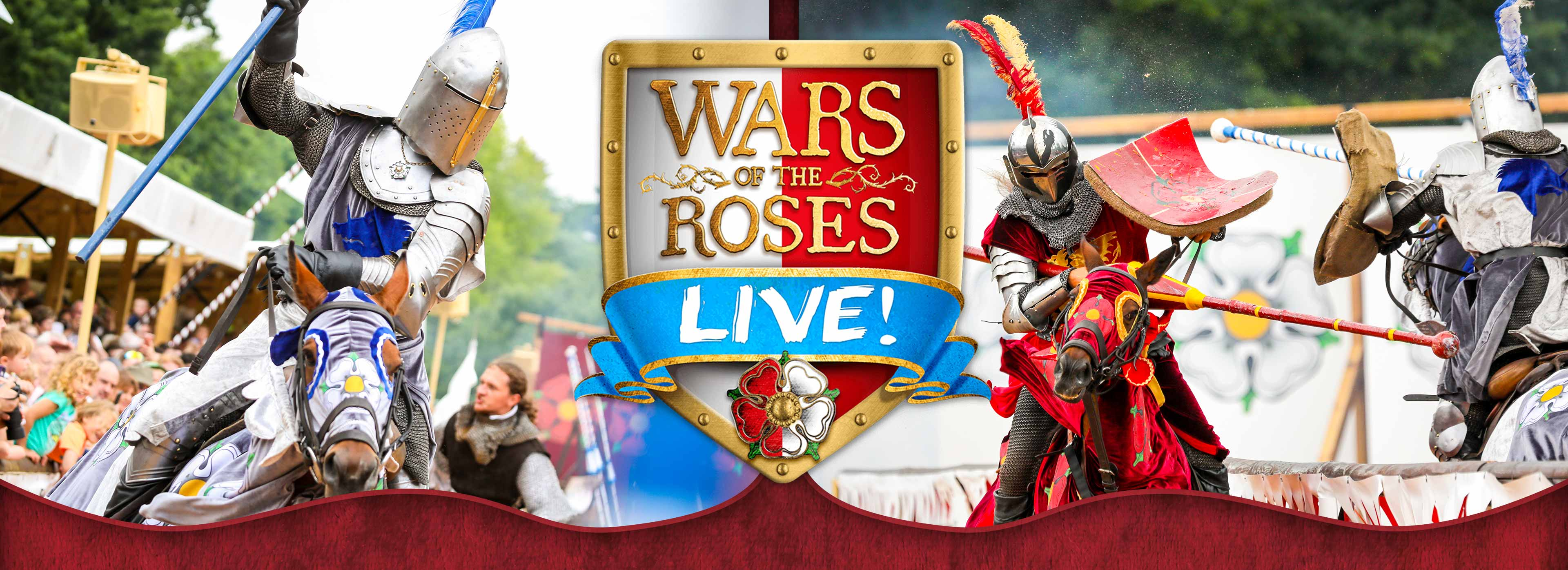 Wars of The Roses at Warwick Castle in 2019