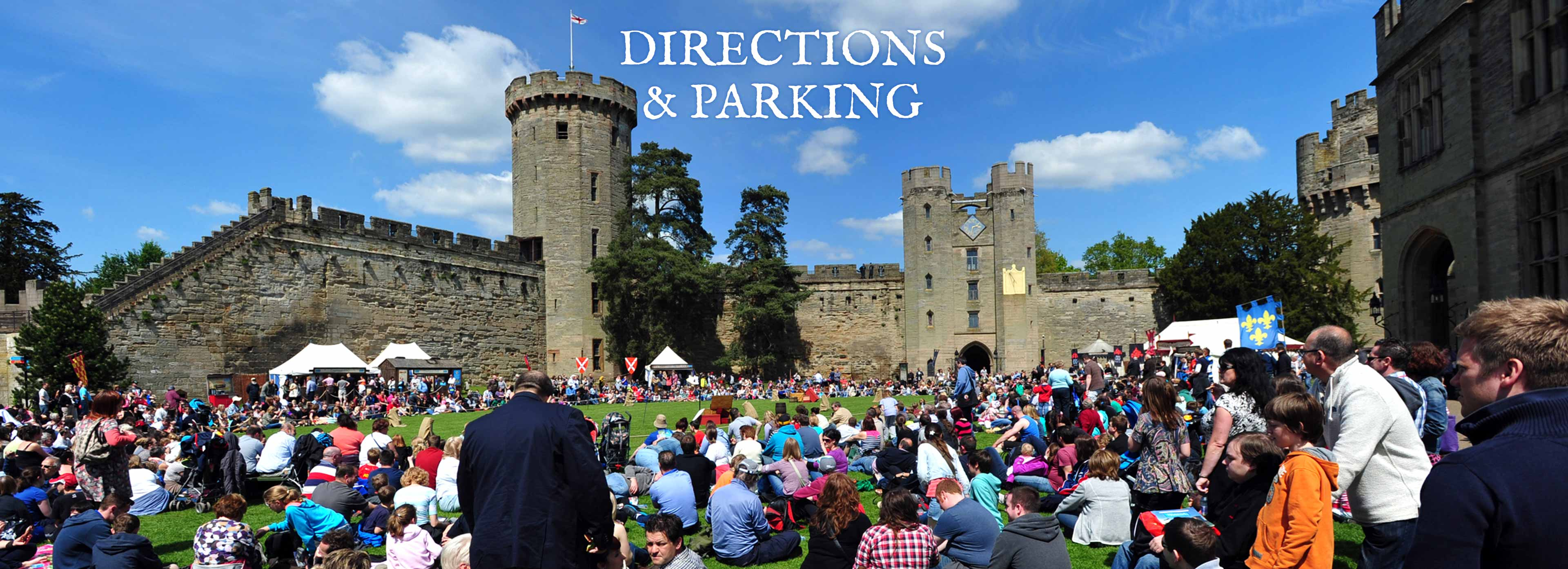 How to get to Warwick Castle
