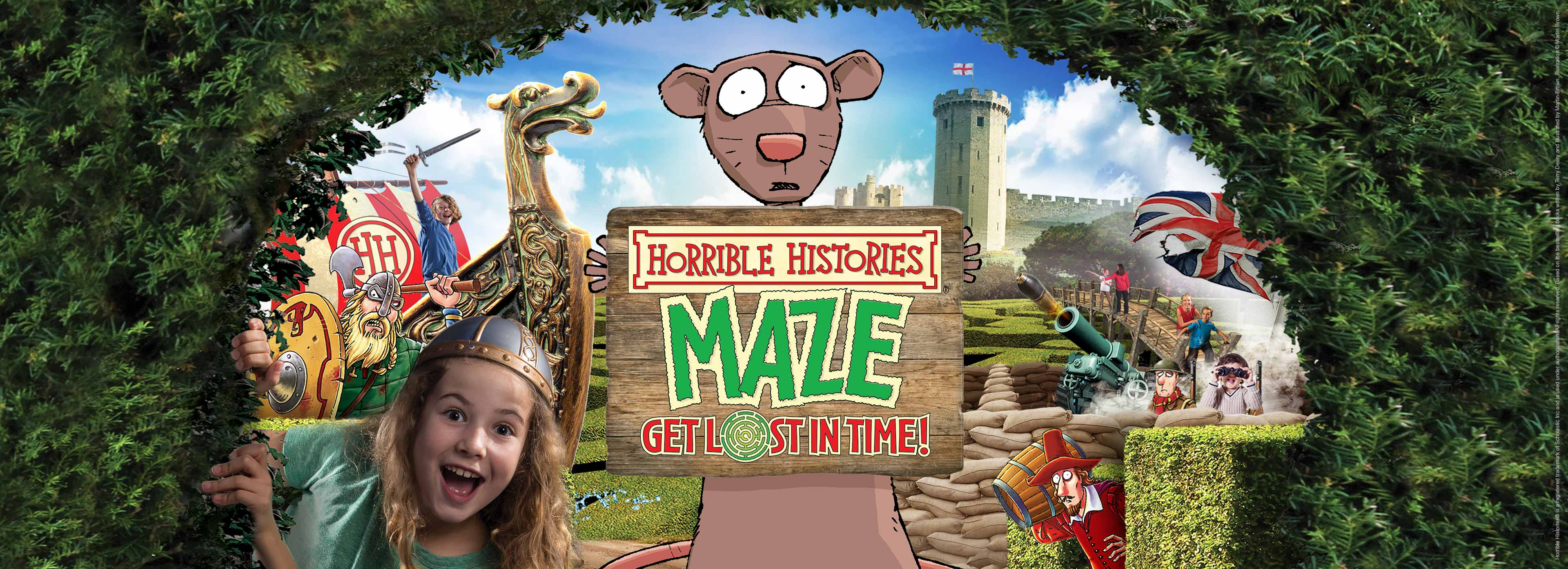 Horrible Histories Maze