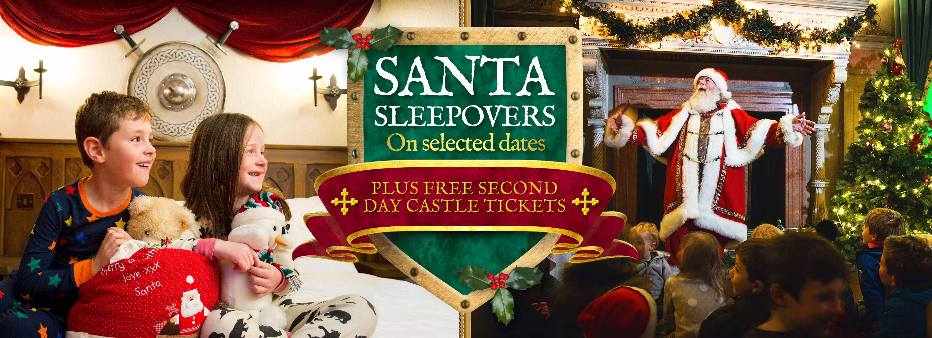 Christmas at Warwick Castle