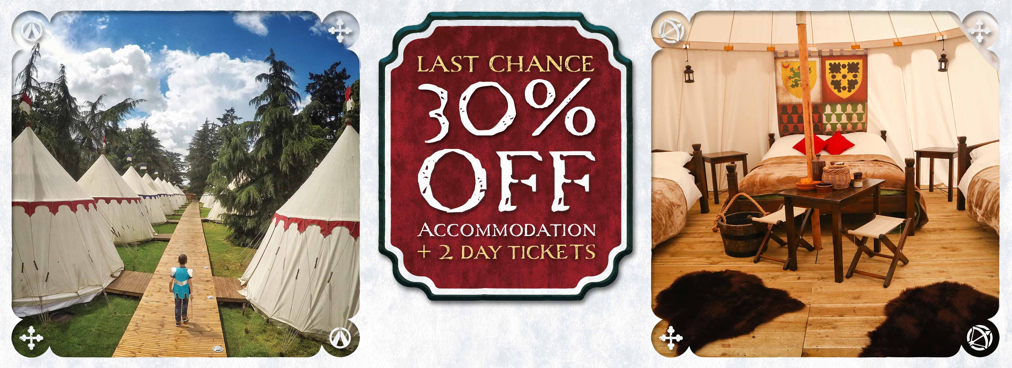 30% off Warwick Castle stays in 2019