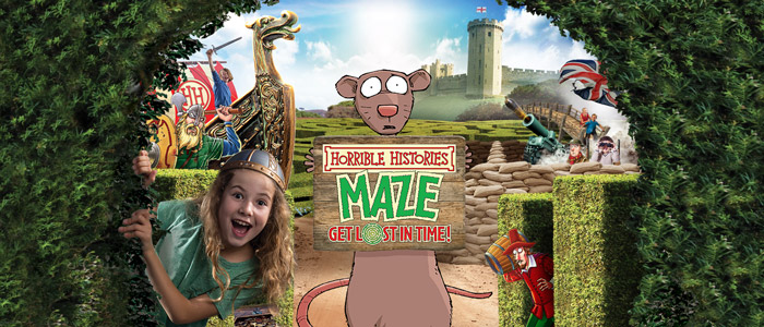 Horrible Histories® Maze at Warwick Castle