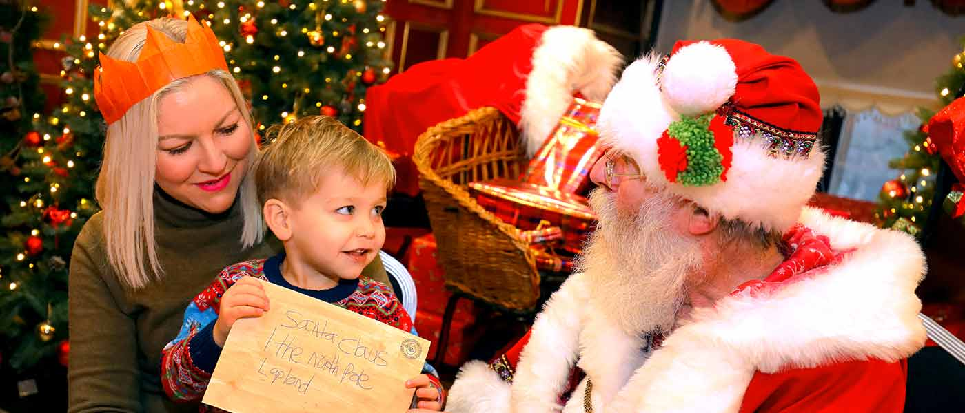 Santa Sleepovers at Warwick Castle