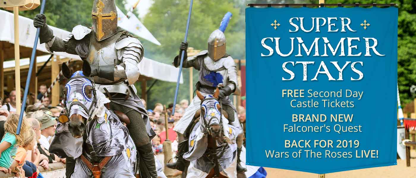 Summer Breaks 2019 at Warwick Castle