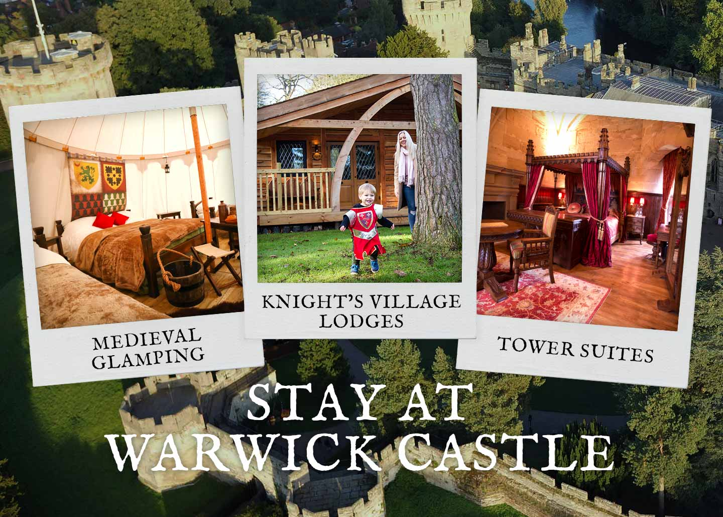 Bed and Breakfast at Warwick Castle