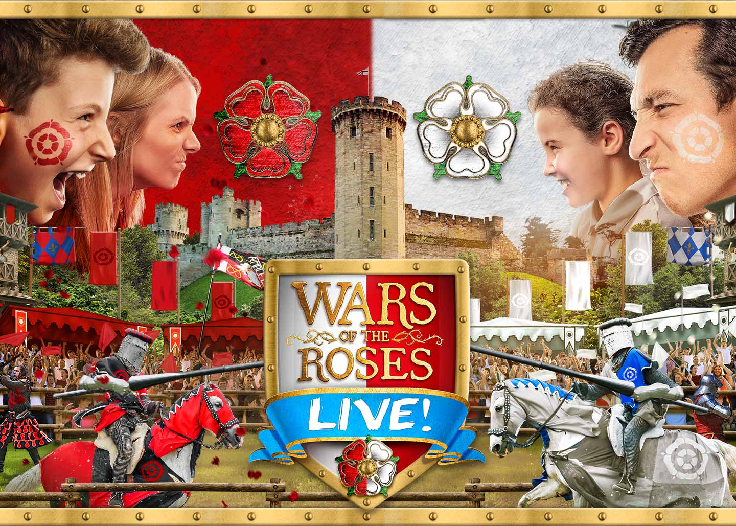 Warwick Castle Wars of the Roses