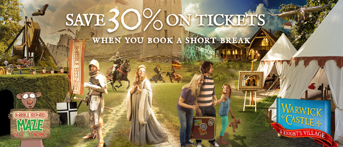 SAVE 30% ON CASTLE TICKETS
